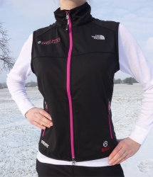 The North Face Women's Cipher Weste mit Windstopper Soft Shell.